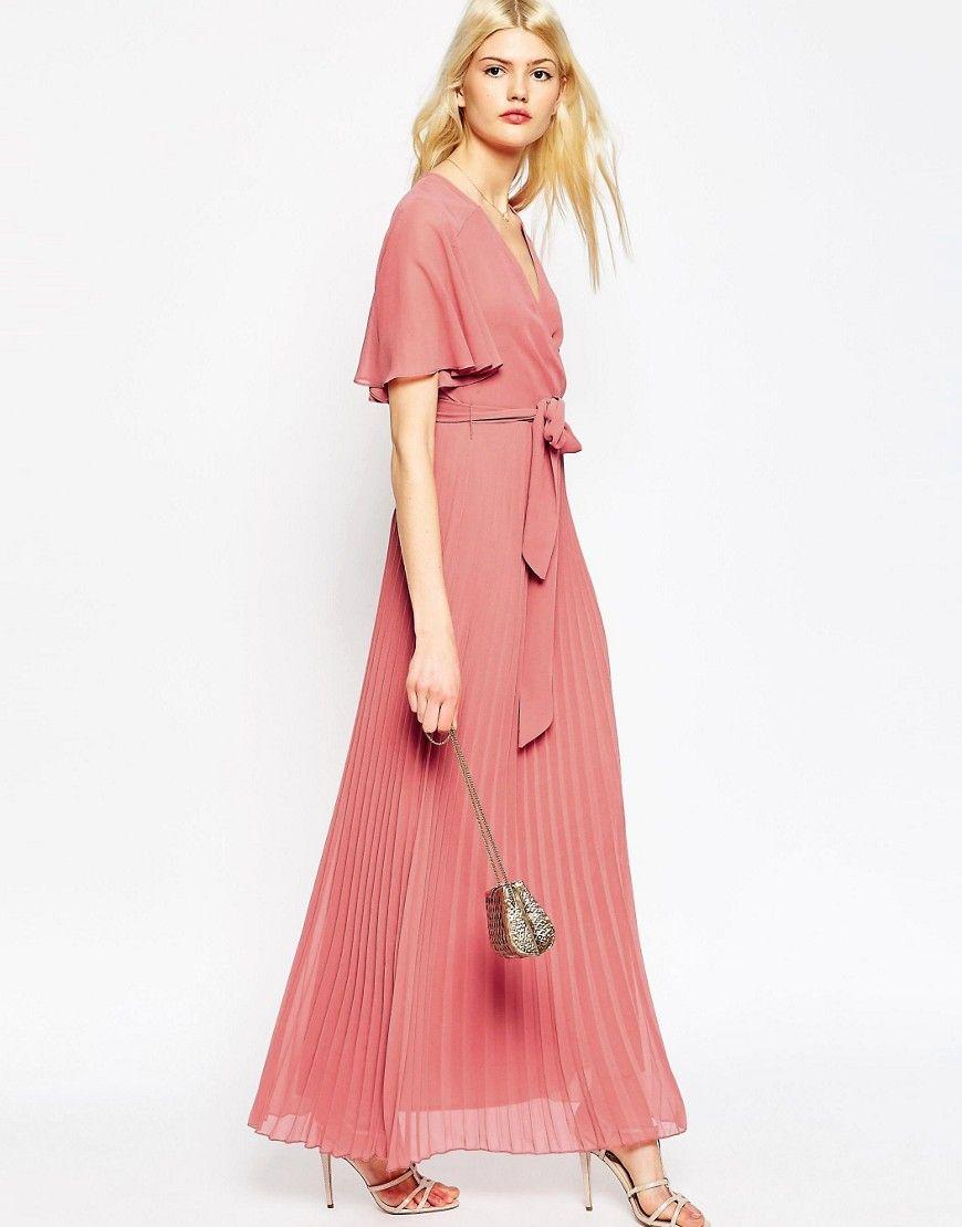 Image 4 of ASOS Pleated Maxi Dress | Dress Stuff | Pinterest