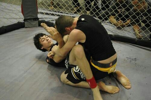"(Me) Working for a Triangle at ""SUOSA Grappling Championships"""