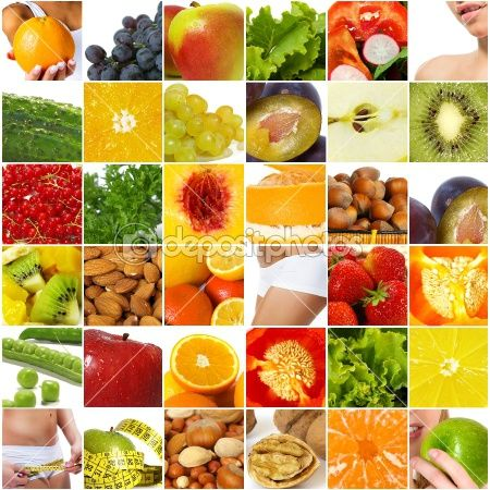 Diet nutrition collage © Tetiana Vychegzhanina #5233013| You can get this image starting from $1.00