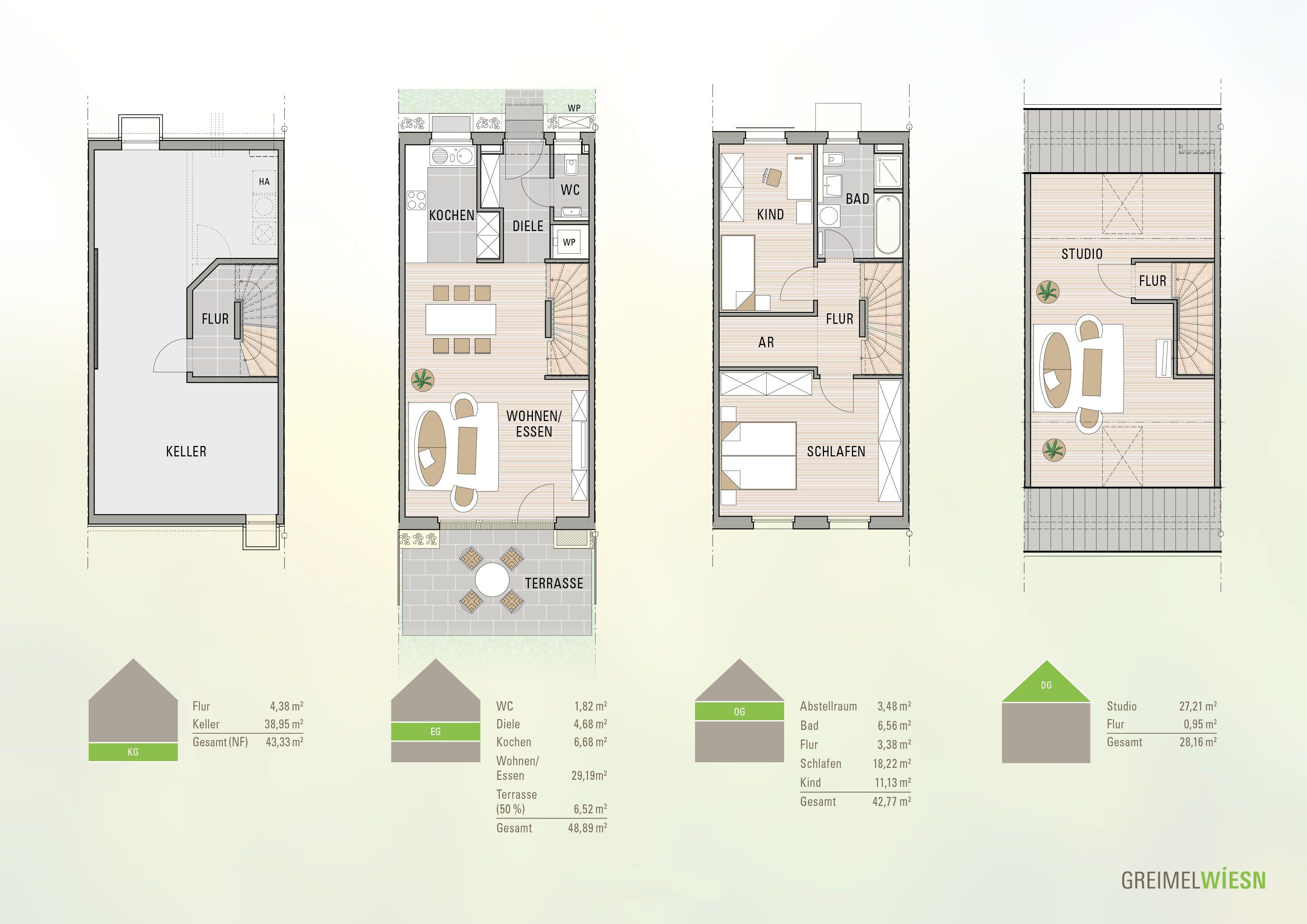 reihenmittelhaus grundrisse hausgrundrisse pinterest haus haus grundriss und grundriss. Black Bedroom Furniture Sets. Home Design Ideas