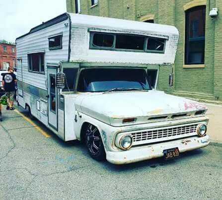 Pin By Solo G On Gmchevy10 Slide In Truck Campers Vintage Camper Suv Camper