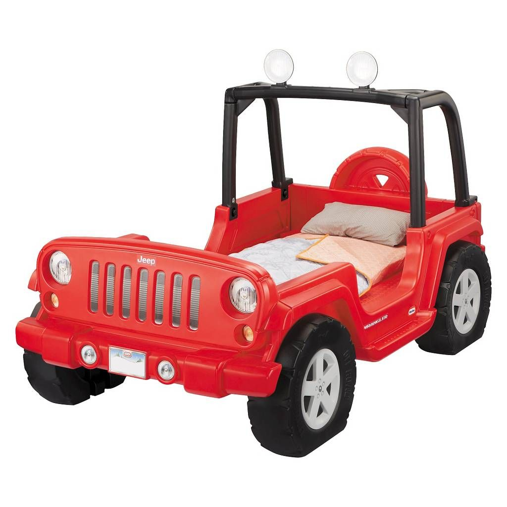 Jeep toys for kids  Little Tikes Jeep Wrangler Toddler to Twin Bed Image  of