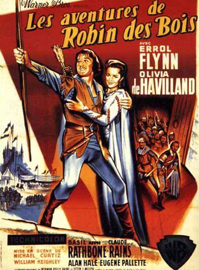 Adventures Of Robin Hood Filmplakate Filme Plakat