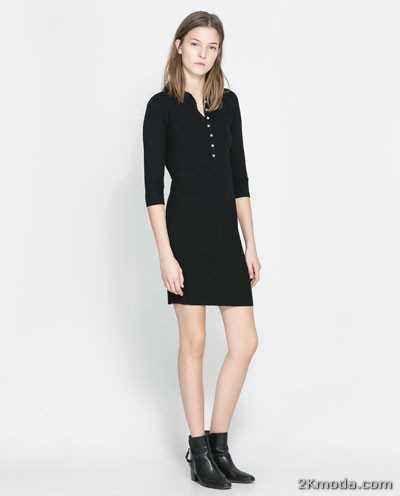 Cool Zara Bayan Elbise Modelleri 2014 Moda Zara Elbise Modelleri
