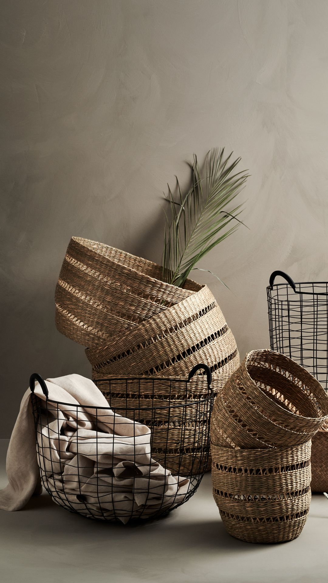 Hm Home Store In Style With These Rustic Woven And Classic Metal