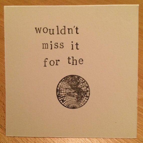Wedding Acceptance Card Wouldn T Miss It For The World Etsy Wedding Acceptance Card Inspirational Cards Cards