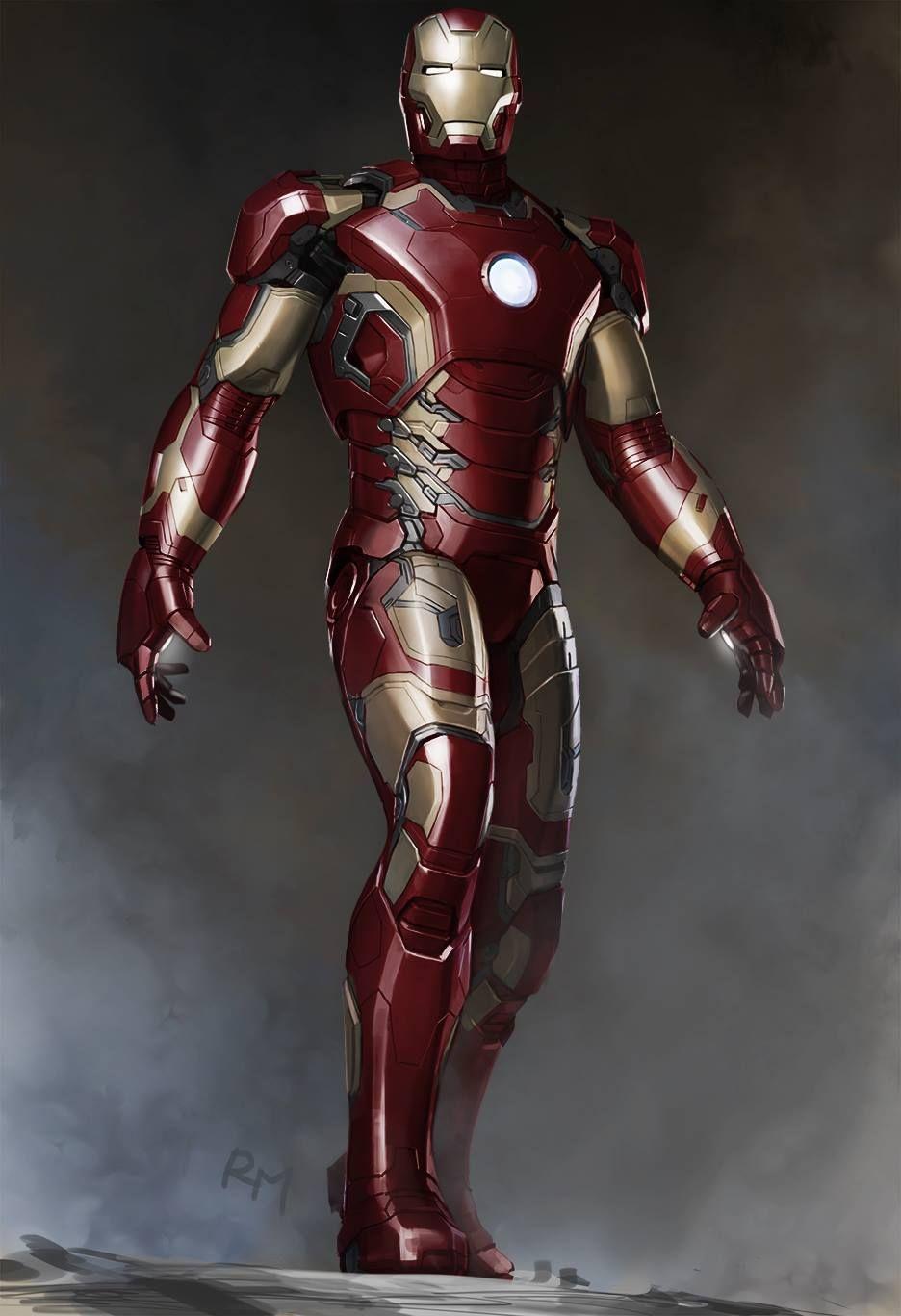 Iron man iron man pinterest avengers age concept for Plan d iron man
