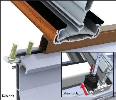 Glazing Support Clips Ultraframe Veranda