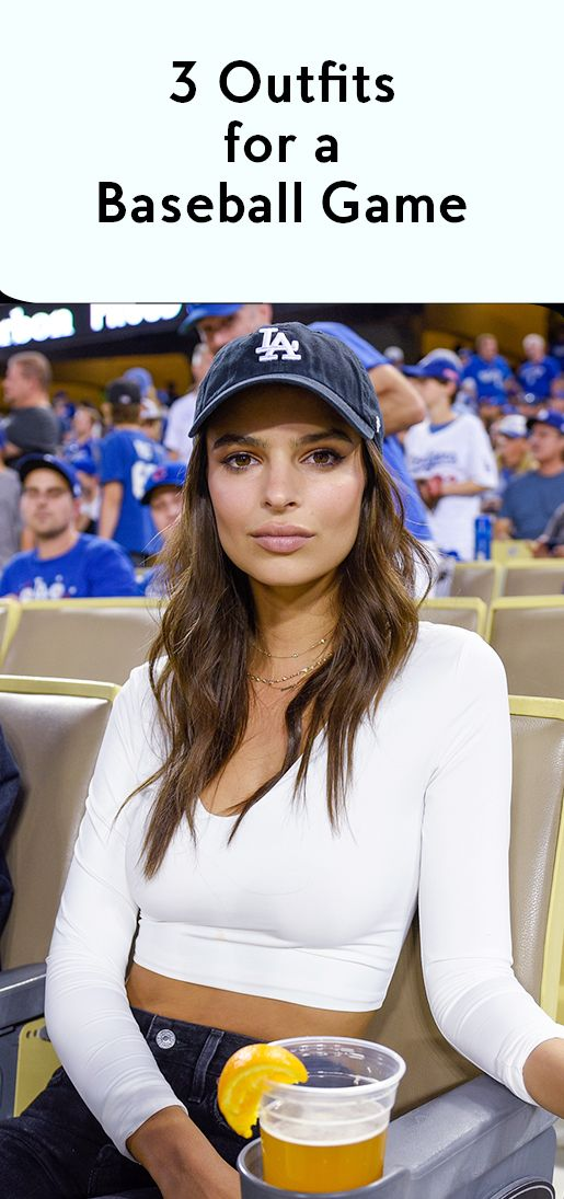 What To Wear To A Baseball Game Baseball Cap Hairstyles Outfits With Hats Baseball Outfit