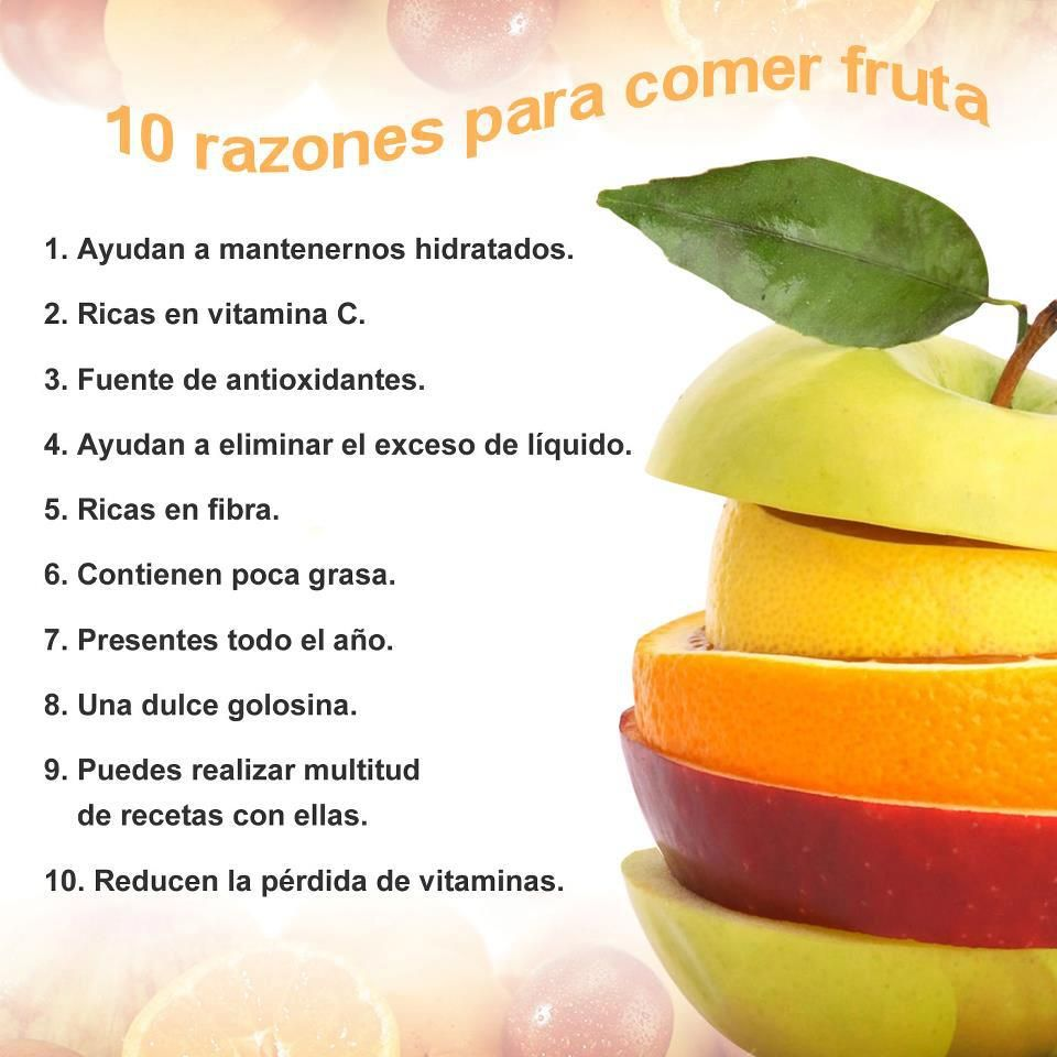 10 Razones Para Comer Fruta Macedonia De Frutas Fruit Salad  ~ Adelgazar Comiendo De Todo Pero Poco