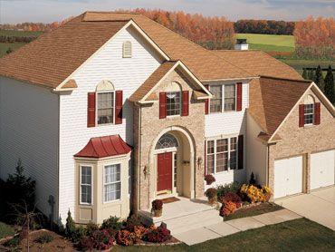 Best Gaf Marquis® Weathermax® Shingles Golden Cedar Roofing 640 x 480