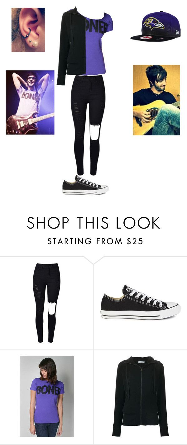 """""""Jack Barakat inspired"""" by maya-03-b on Polyvore featuring Converse, Tomas Maier and New Era"""