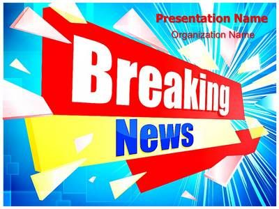Journalism Breaking News Powerpoint Template Is One Of The Best