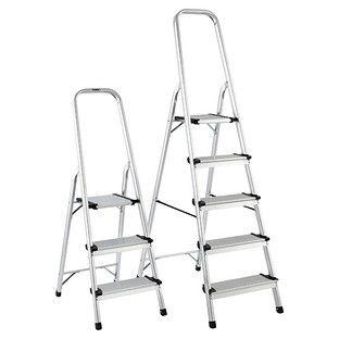 Polder 3 5 Step Aluminum Folding Ladders 79 00 Ea 99