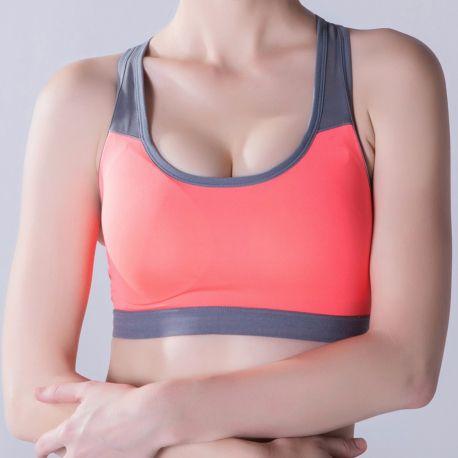 58d467fa764fe Women Padded Yoga Shirt Sports Bra Push Up Dry Fit Tank Tops For Running