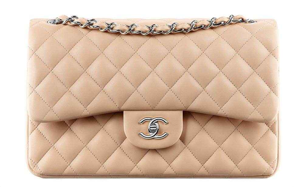 Check Out Prices Sizes Size Comparisons And Colors For The Chanel Classic Flap Bag