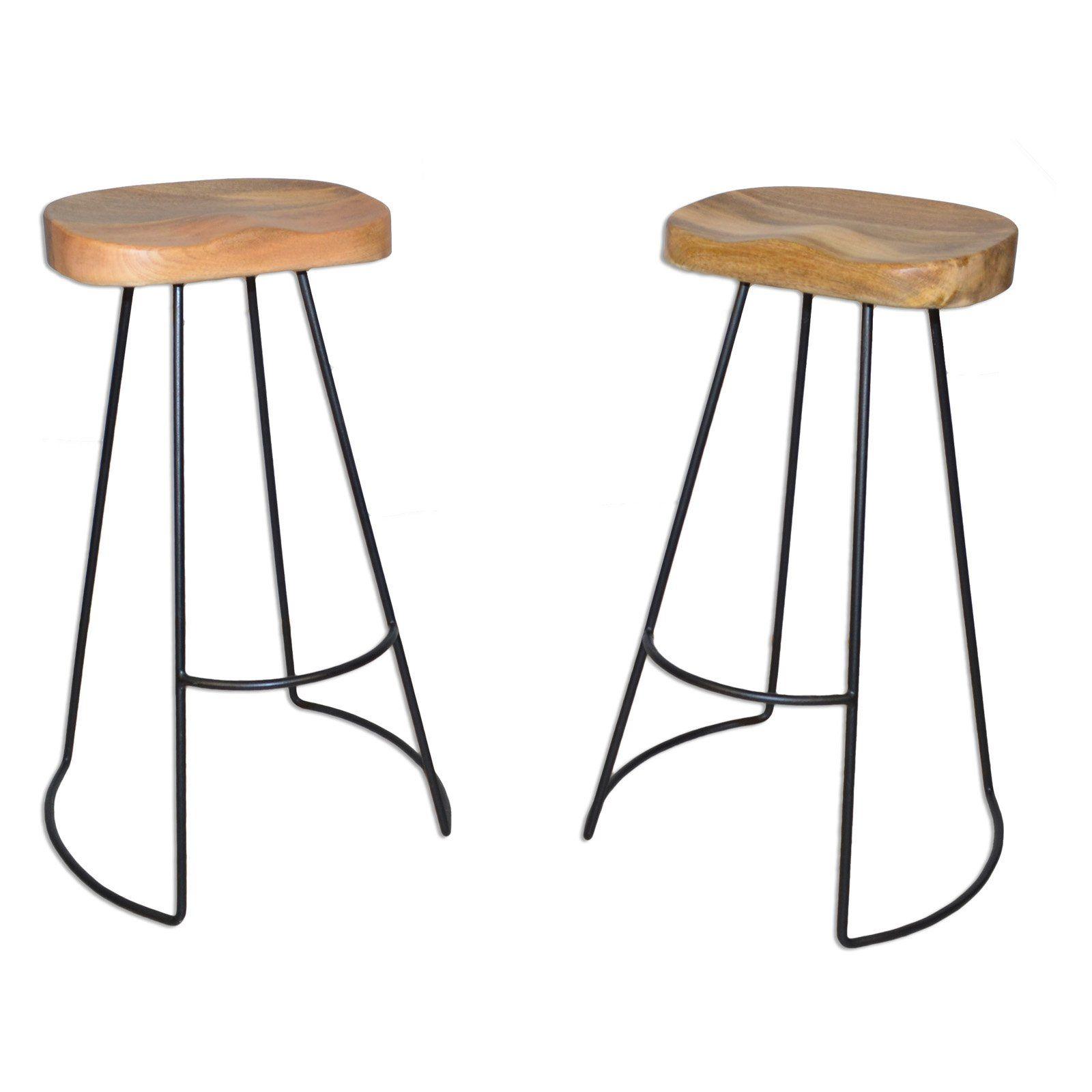 Carolina Chair Table Co Sadie 31 In Backless Bar Stool Set