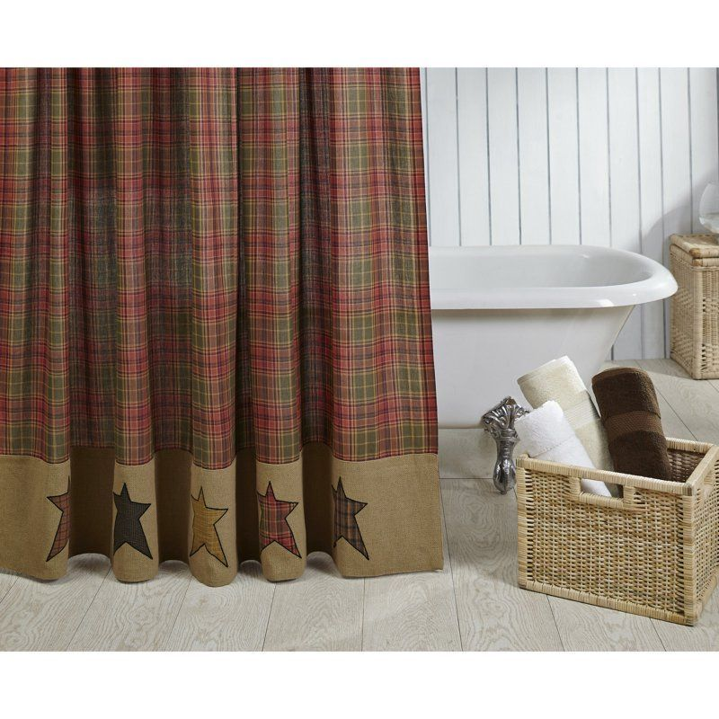 VHC Stratton Shower Curtain