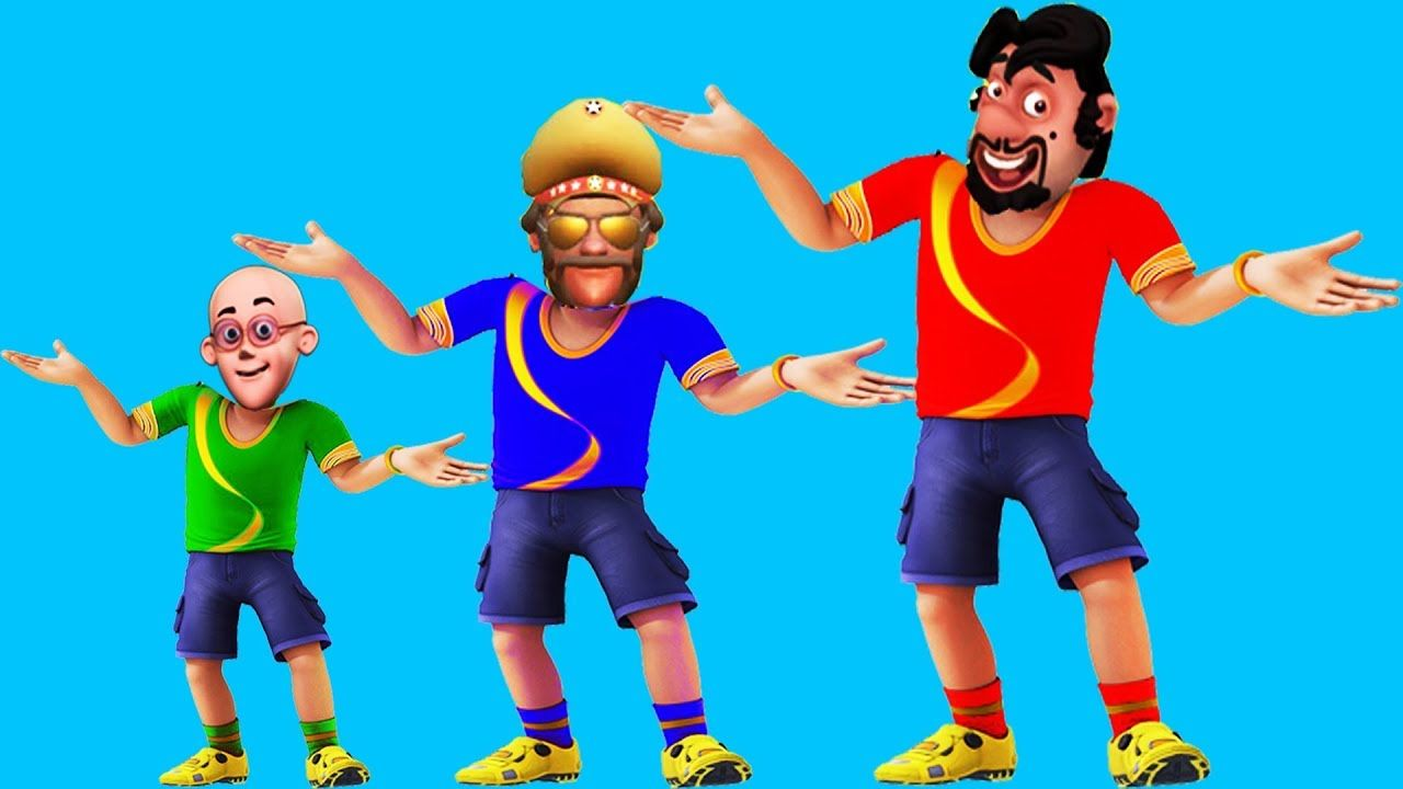 Motu Patlu Cartoon In Hindi 6 Shiva Head Ch Learn Colors Ice