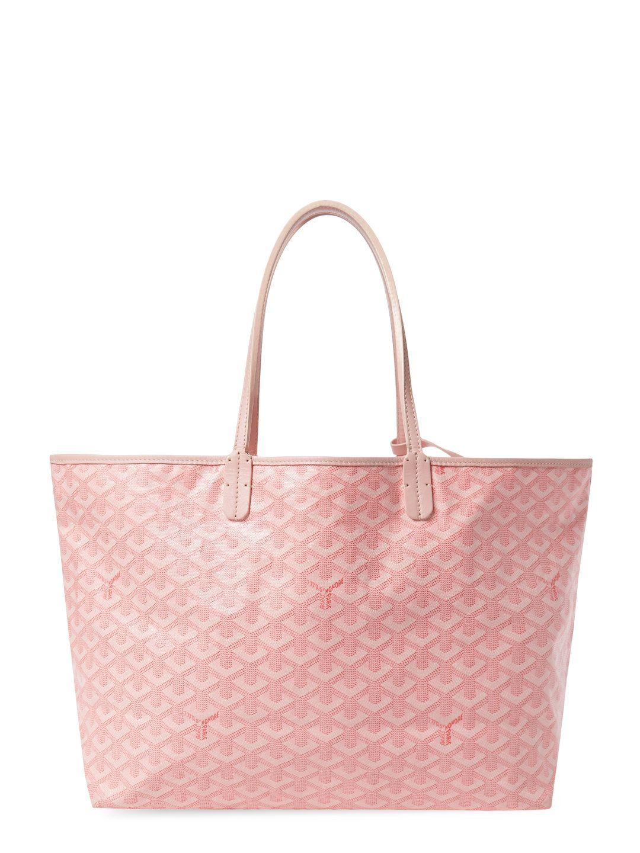 03447a8a0 Limited Edition Pink Goyardine Saint Louis PM by Goyard at Gilt ...