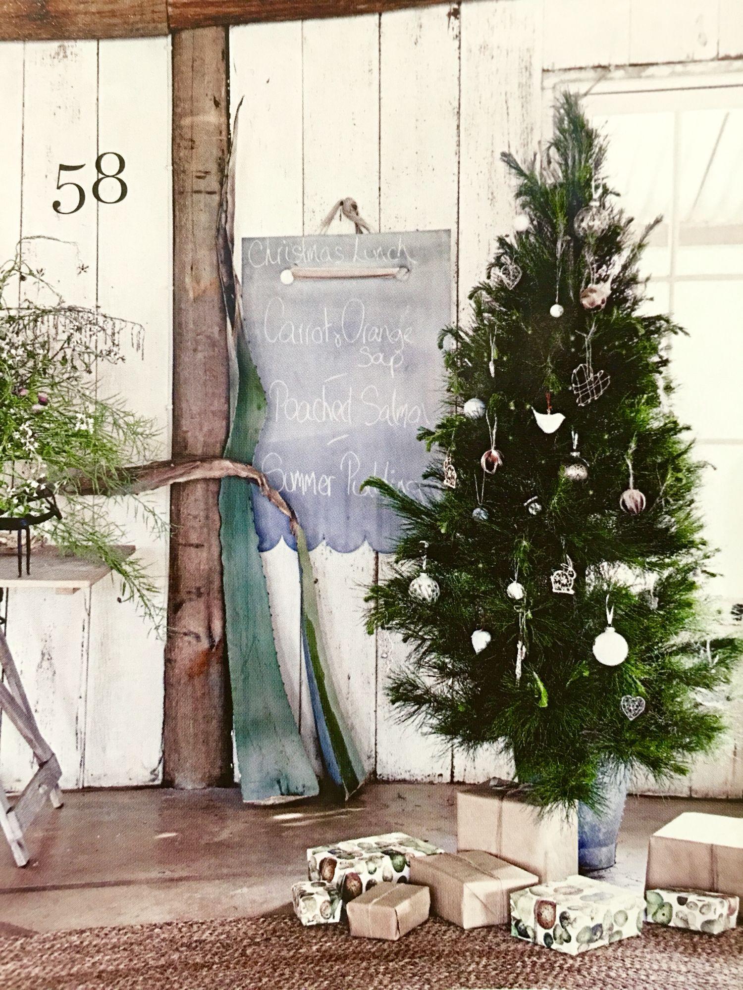 Christmas Tree Australia Country Style Magazine House Decor Rustic Australian Christmas Rustic House