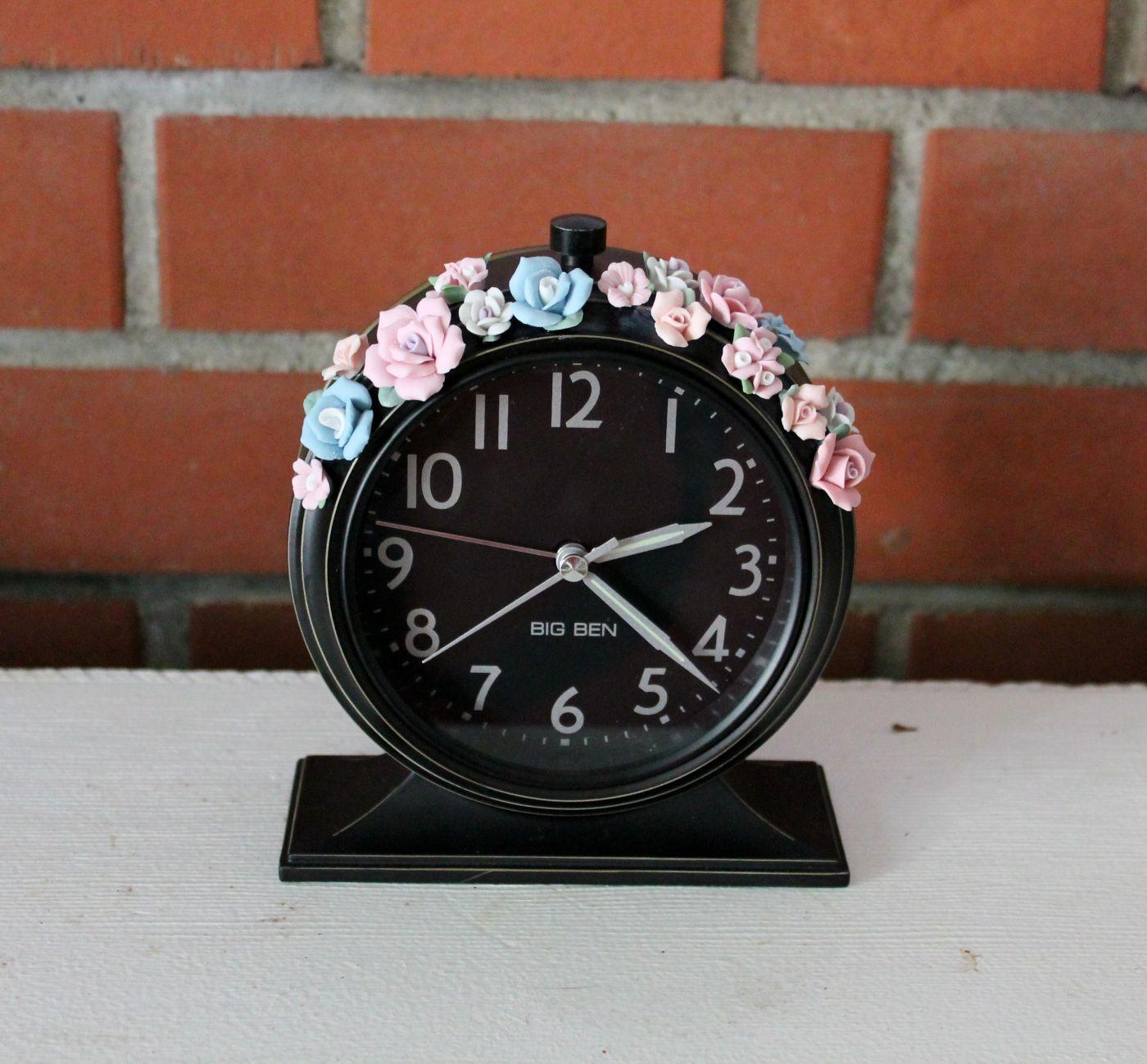 Rococo Alarm Clock | house | Clock, Alarm clock, Rococo