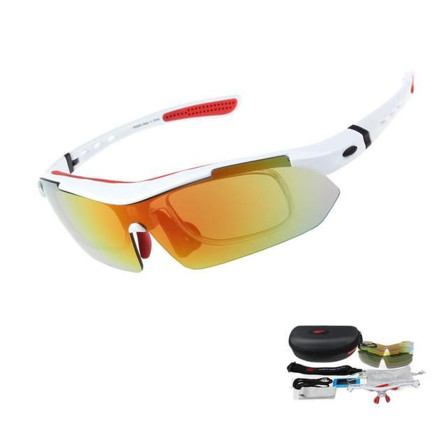 Cycling Bike Goggles Eyewear Glasses Outdoor Sports Fishing Sunglasses New UV400