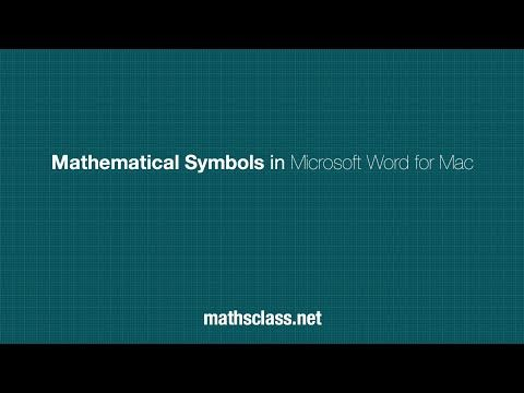 Mathematical Symbols In Powerpoint For Mac Mathsclass Mathslinks