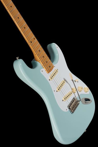Fender Vintera 50s Strat Mn Sbl Fender Blue Electric Guitar Guitar