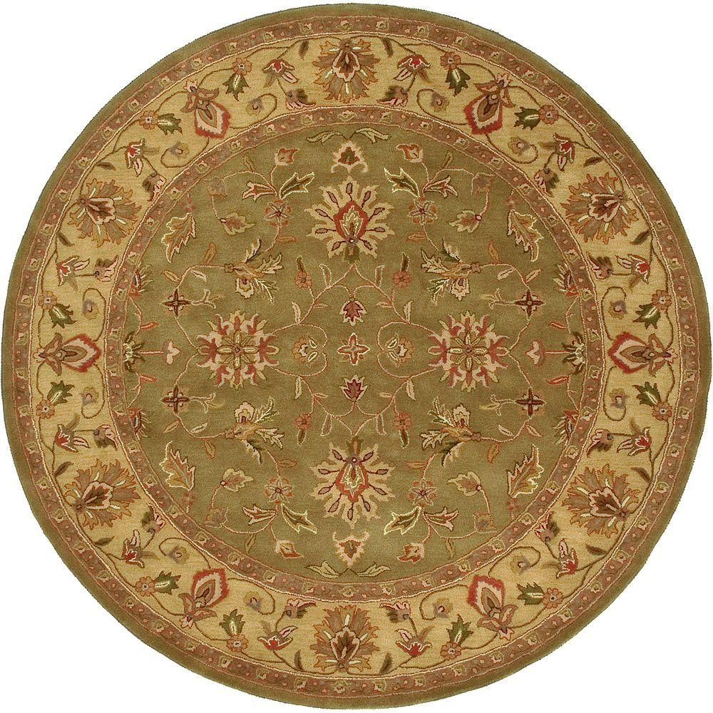 Artistic Weavers Franklin Fern 8 Ft X 8 Ft Round Area Rug