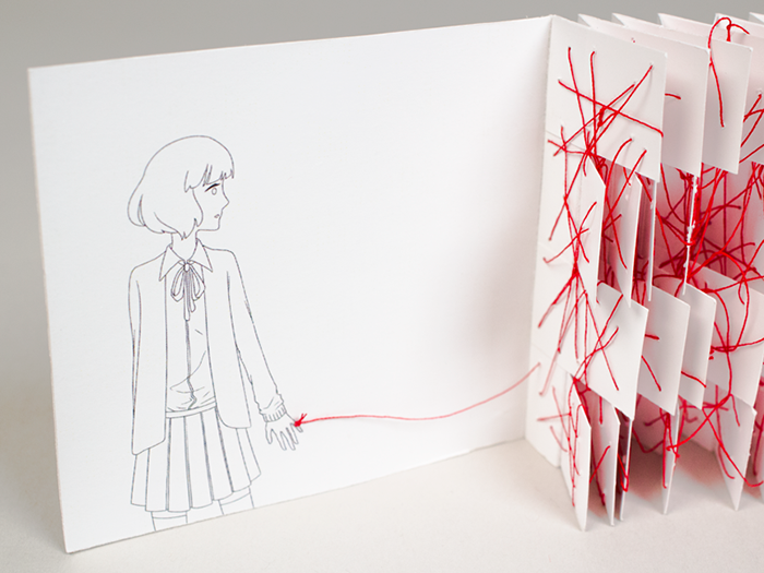 Red String By Stephanie Shih Books Red String Of Fate String