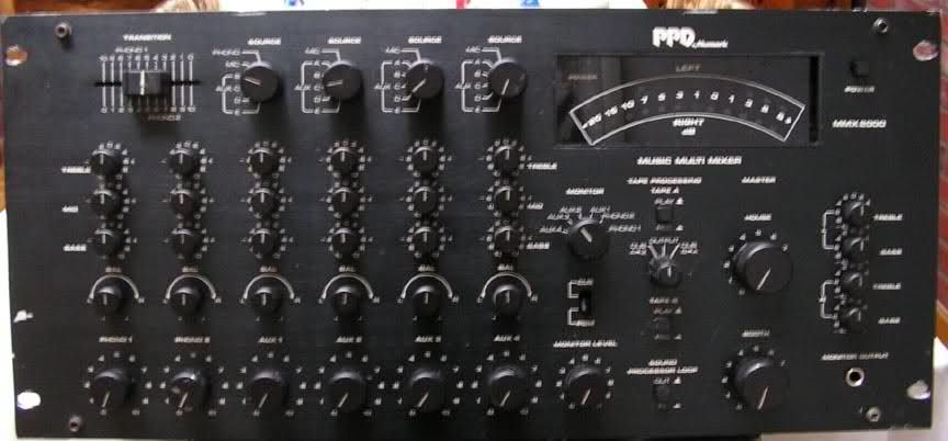 Numark MMX-2000 Rotary Mixer - Wave Music Community Board