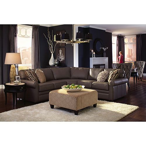 Collins Sectional  sc 1 st  Pinterest : lazyboy sectional - Sectionals, Sofas & Couches