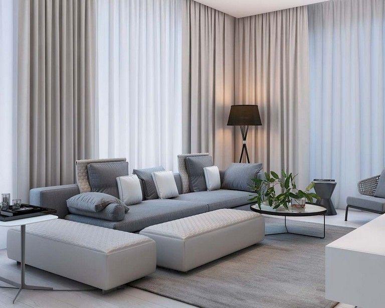 75 Lovely Modern Apartment Living Room Decor Ideas Classy