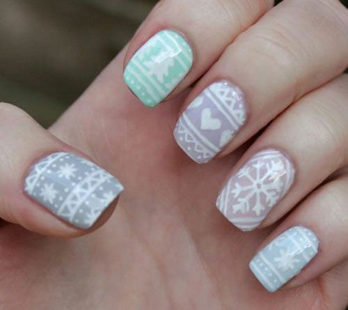 Christmas Diy Nail Ideas And More Of Our Manicures From: Pin Auf Nail Art