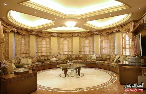 كنبات مجالس رجال ونساء فخمة مغربي وخليجي قصر الديكور Interior Wall Design Tv Set Design Living Room Designs