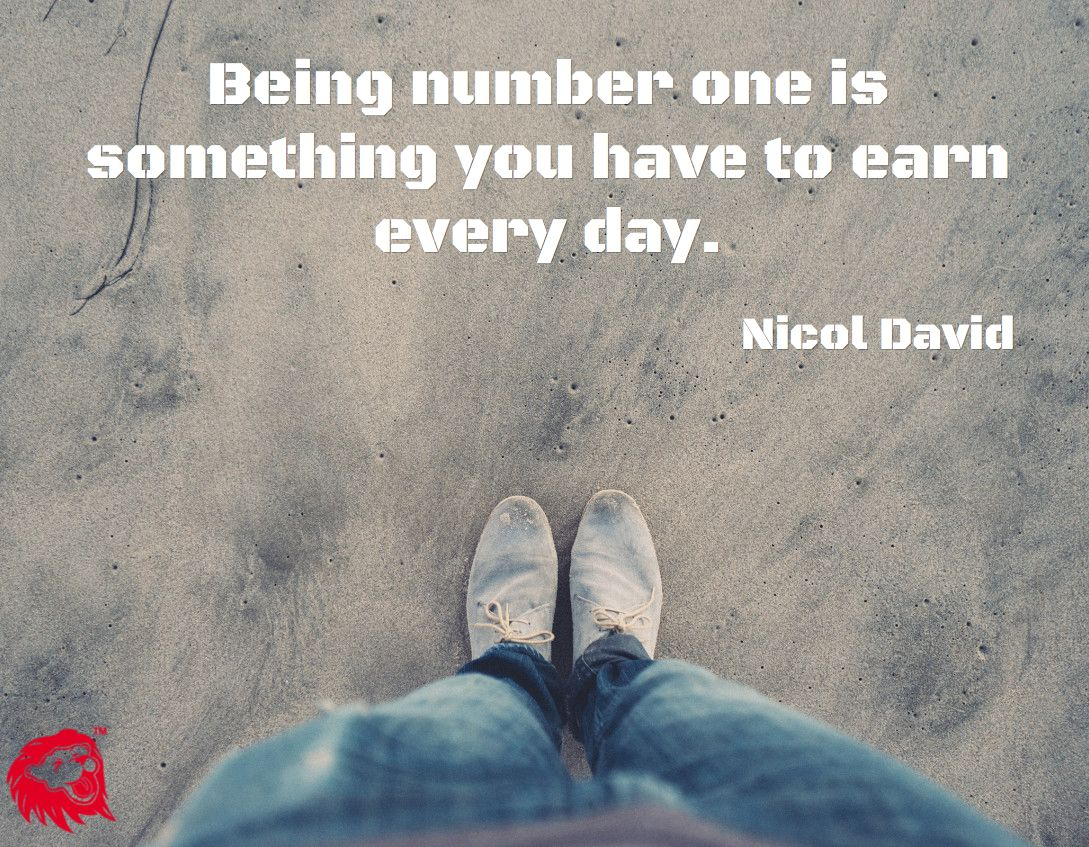 Being Number One Is Something You Have To Earn Every Day Nicol David Celebration Quotes Identity Quotes London Quotes