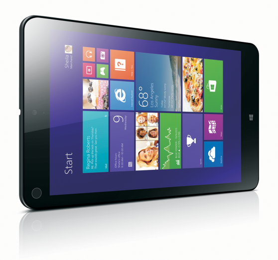 Lenovo ThinkPad 8 tablet unveiled at CES 2014 - http://www.gadget.com/2014/01/06/lenovo-thinkpad-8-tablet-unveiled-ces-2014/