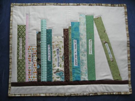 Bookshelf Quilt Instructions