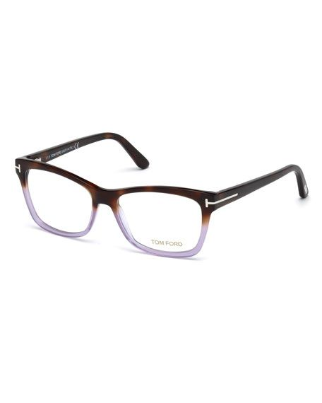74f0fc194a TOM FORD Square Two-Tone Optical Frames