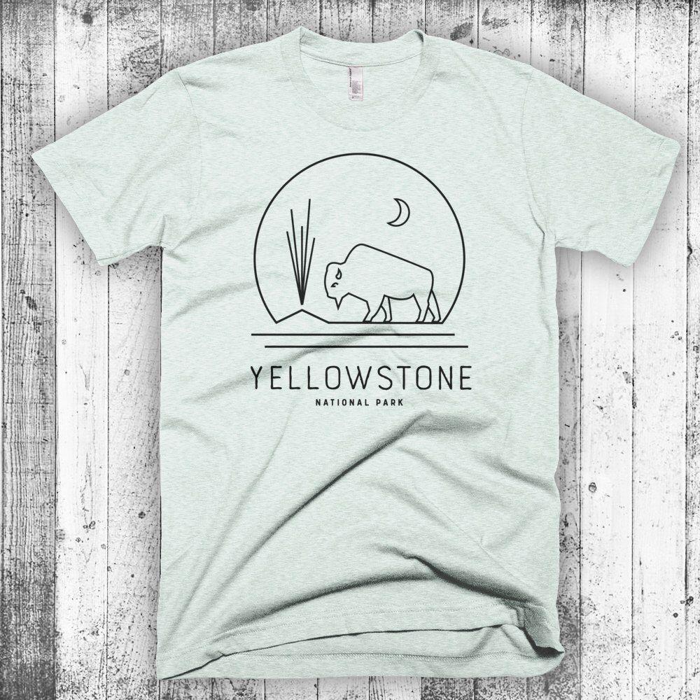Yellowstone shirt National park shirt National park t-shirt National park tshirt Yosemite te National park tee National park tee shirt