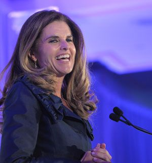 The Beautiful @Maria Shriver spoke at the National Alzheimer's Association Dinner in DC