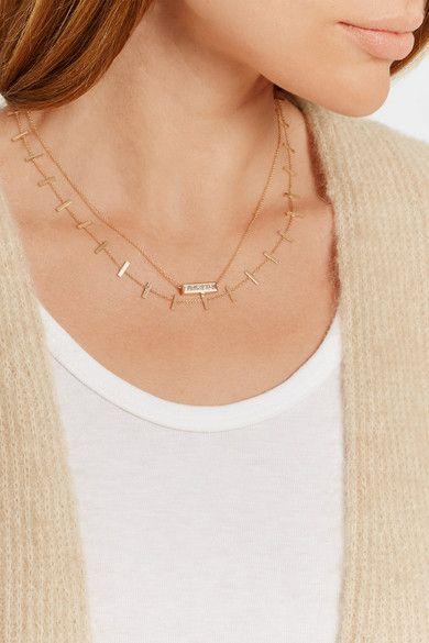 Jennifer Meyer Womens Cross Bar Necklace wMy31Oo