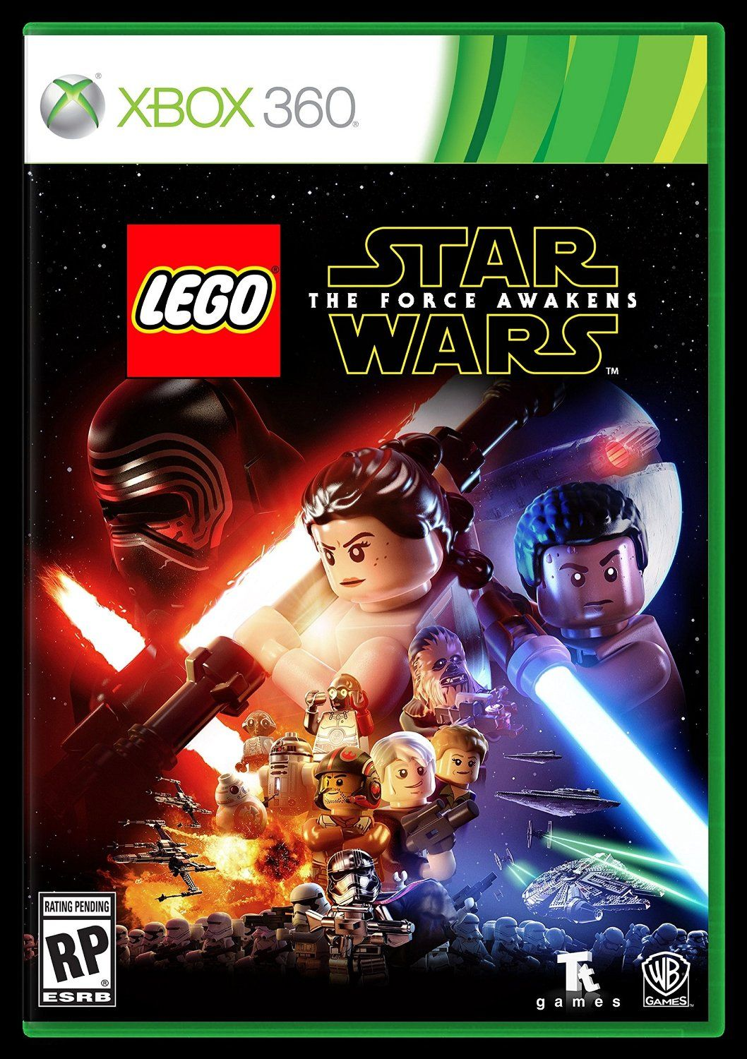 There's no shortage of Star Wars Xbox 360 Games. So I've