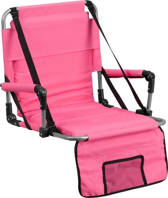 Flash Furniture TY2710 PK GG Folding Stadium Chair In Pink
