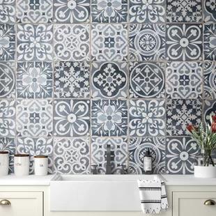 Floor Wall Tile Sale You Ll Love In 2020 Wayfair In 2020 Patterned Tile Backsplash Elitetile
