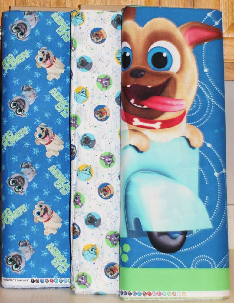 Disney Puppy Dog Pals On A Mission Quilt Panel Fabrics Sold Separately Springscreative Panel Quilts Dogs And Puppies Puppy Party