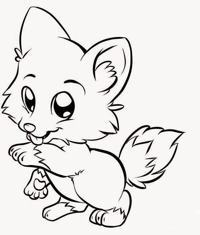 gato-bebe-para-colorear.jpg (652×766) | Univalle | Pinterest