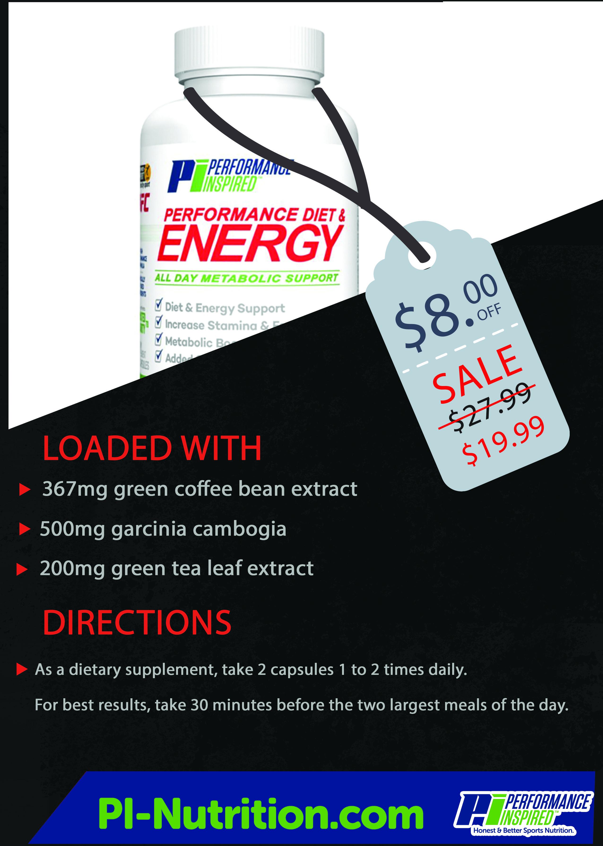 Performance Diet & Energy How to increase energy, Energy
