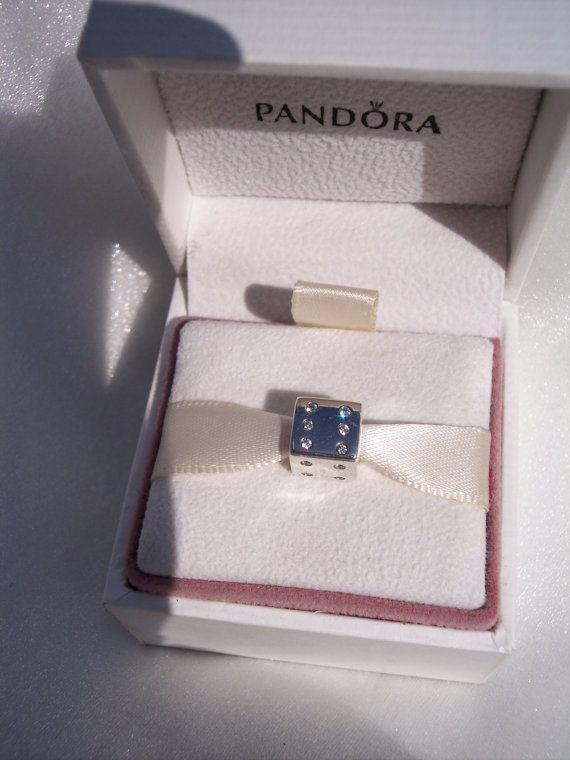 84c8ab869 Las Vegas Lucky Dice CZ Limited Edition Genuine by JEWELSELAGANT Pandora  Collection, Pandora Bracelet Charms